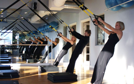 pilates inspired trx class